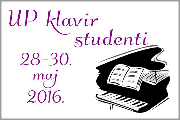 Uporedni klavir - studenti